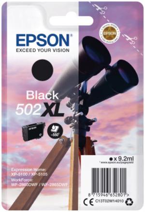 EPSON Singlepack Black 502XL Ink C13T02W14010