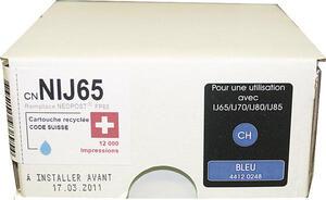 Neutral Tintenpatrone CH blau NJ65