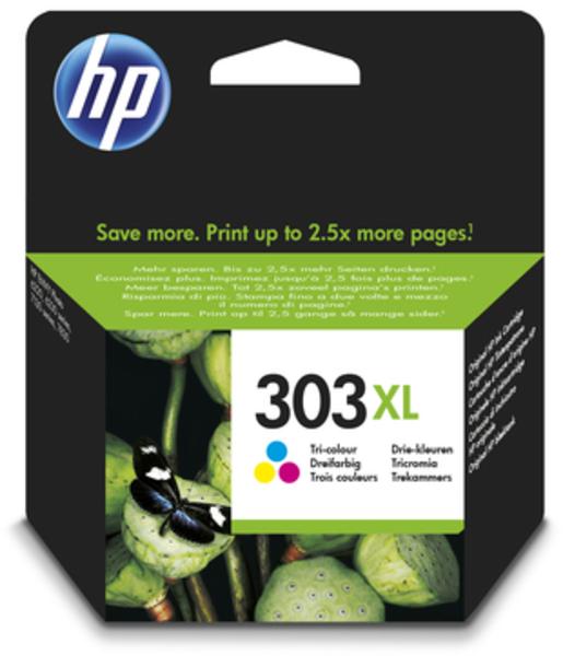 HP 303XL Tinte dreifarbig, hohe Kapazität T6N03AE