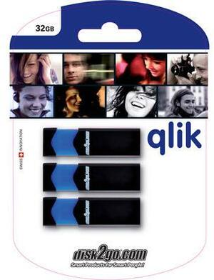 disk2go USB-Stick qlik 2.0 16GB 30006482