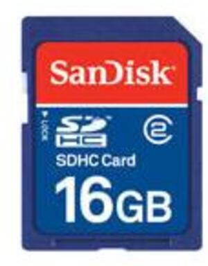 SanDisk SDHC 16GB SDSDB-016G-B35