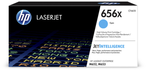 HP 656X Original LaserJet Toner Cyan Hohe Kapazität CF461X