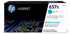 HP 657X LaserJet Original Toner Cyan Hohe Kapazität CF471X