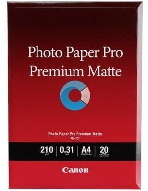 Canon PM-101 A4 Paper/Premium Matte Photo 20sh 8657B005