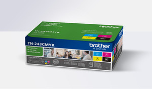 Brother Toner TN243CMYK, 1000 Seiten TN243CMYK