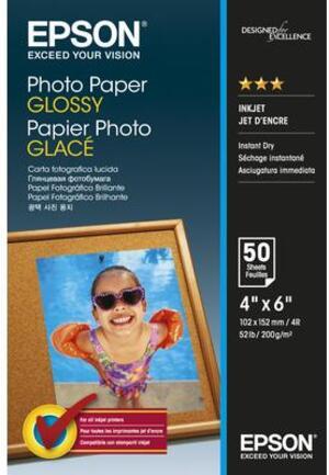 EPSON Photo Paper Glossy 10x15cm 50 sheet C13S042547