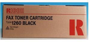 Ricoh Toner Typ 1260, black 430351