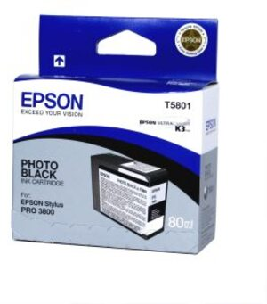 EPSON Ink, photo black T580100