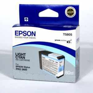 EPSON Ink, light cyan EPT580500