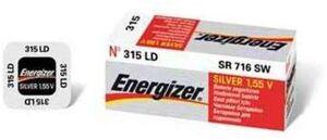 Energizer 315/314 SR 716 SW 1.5V S 635321