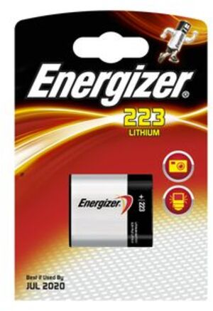 Energizer 223 Lithium 6.0V 628288