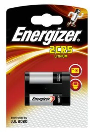 Energizer 2CR5 Lithium 6.0V 628287
