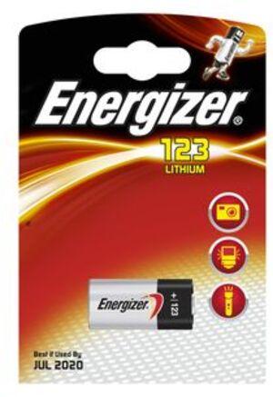 Energizer 123 Lithium 3.0V 628290