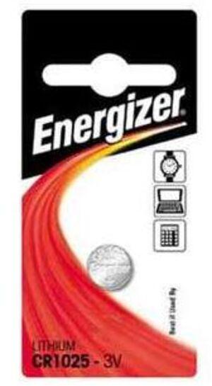 Energizer CR 1025 Lithium 3.0V FSB-1 610380