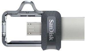 SanDisk Ultra USBm3.0 Dual 256GB 150MB/s SDDD3256GG46