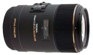 SIGMA 105mm f / 2.8 EX DG OS HSM Macro CA 258927
