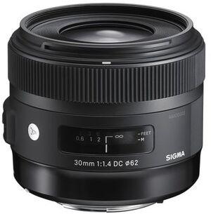 SIGMA 30mm / f 1.4 DC HSM CA 301954