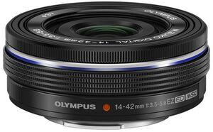 Olympus m.Zuiko 14-42mm 3.5-5.6 EZ black V314070BE000