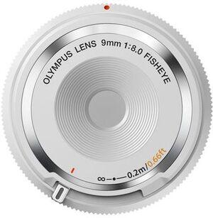 Olympus Body Cap Lens 9mm 1:8.0 fisheye V325040WW000