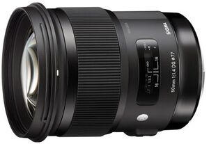 SIGMA 50mm / f 1.4 DG HSM Art NI 311955