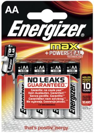Energizer Batterien Max AA 1.5V 637463