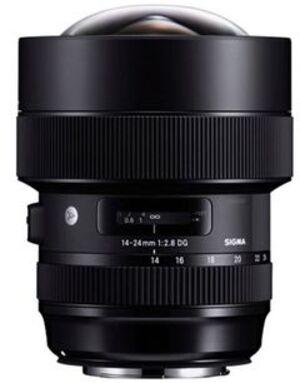 SIGMA 14-24mm f / 2.8 DG HSM Art CA 212954A1