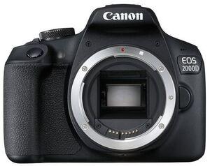 Canon EOS 2000D Body, 24 MP 2728C001
