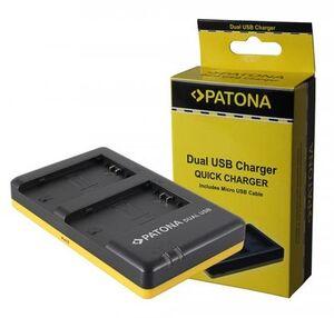 Patona Ladegerät Dual USB NP-FZ100 1927