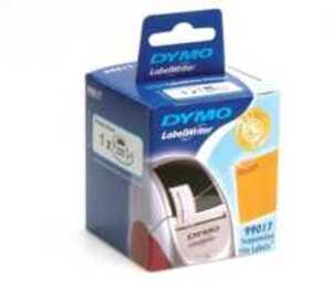 DYMO Hängeablagen-Etiketten 12x50mm, weiss 99017