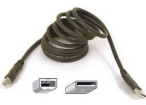 Belkin USB Cable A to B 1.8m Black F3U133B06