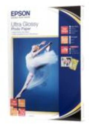 EPSON Ultra Glossy Photo, 13x18,50 Blatt S041944