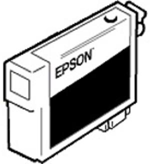 EPSON Tintenpatrone, schwarz C33S020411