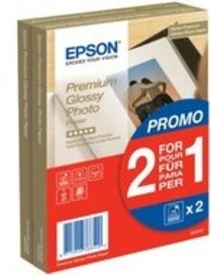 EPSON Fotopapier Glossy 10x15 / 2x40 St S042167