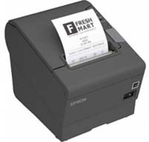 EPSON TM-T88V, USB, BT (iOS), dunkelgrau C31CA85953