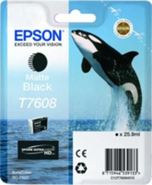 EPSON T7608 MATTE BLACK C13T76084010