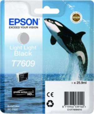 EPSON T7609 LIGHT LIGHT BLACK C13T76094010