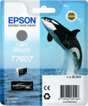 EPSON T7607 LIGHT BLACK C13T76074010