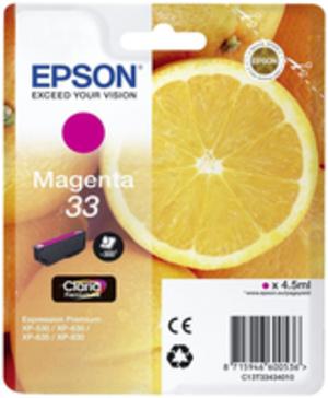 EPSON Tintenpatrone magenta C13T33434010