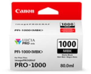 Canon Ink Cart/PFI-1000 Matte Black 545C001