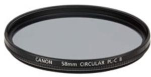 Canon Zirkularpolfilter Filter 58mm 2188B001