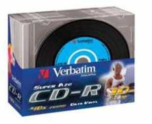 Verbatim CD-R 52x 80Min/700MB 10er Pack 43426