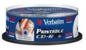 Verbatim CD-R Spindle 80MIN/700MB 43439