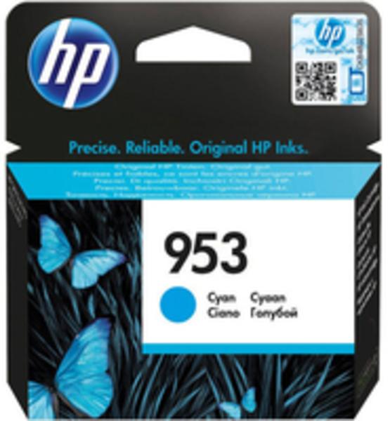 HP 953 Tintenpatrone Cyan 700 Seiten F6U12AE