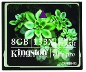 Kingston CF Card Standard 8GB CF8GB