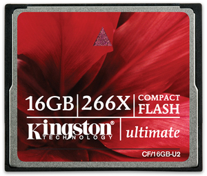 Kingston COMPACT FLASH CARD 16GB CF16GB-U2
