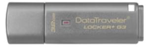 Kingston Data Traveler Locker+ G3/32GB USB 3.0 DTLPG332GB