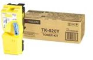 KYOCERA Kyocera-Mita Toner Kit, yellow TK-820Y