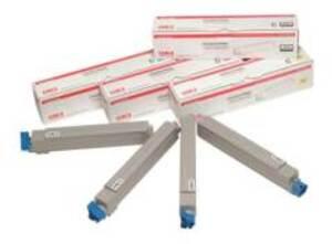 OKI Toner Rainbow Kit CYMK 43112702