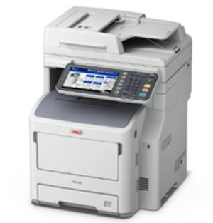 OKI MB770dnfax MFP mono Drucker A4 52ppm 45387304