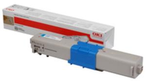 OKI Toner cyan C332/MC363 46508715
